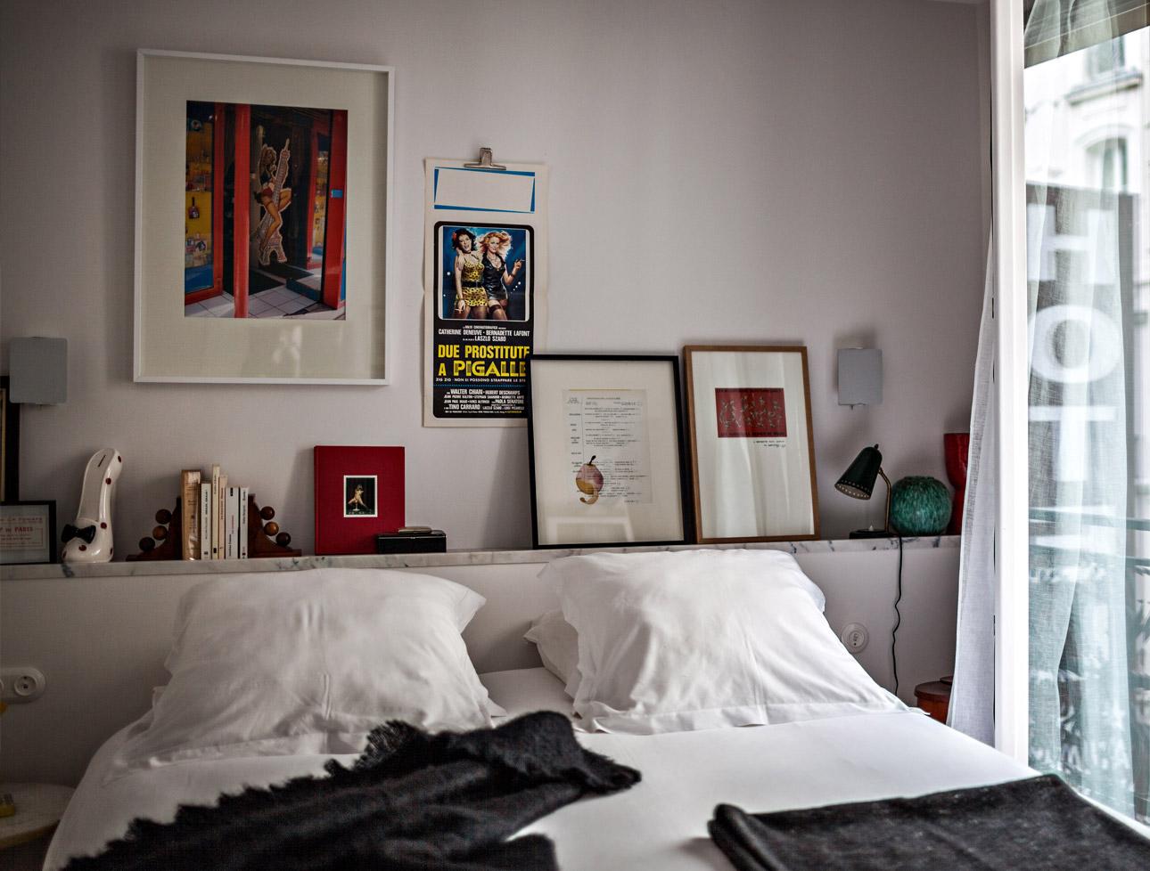 le pigalle paris les chambres. Black Bedroom Furniture Sets. Home Design Ideas