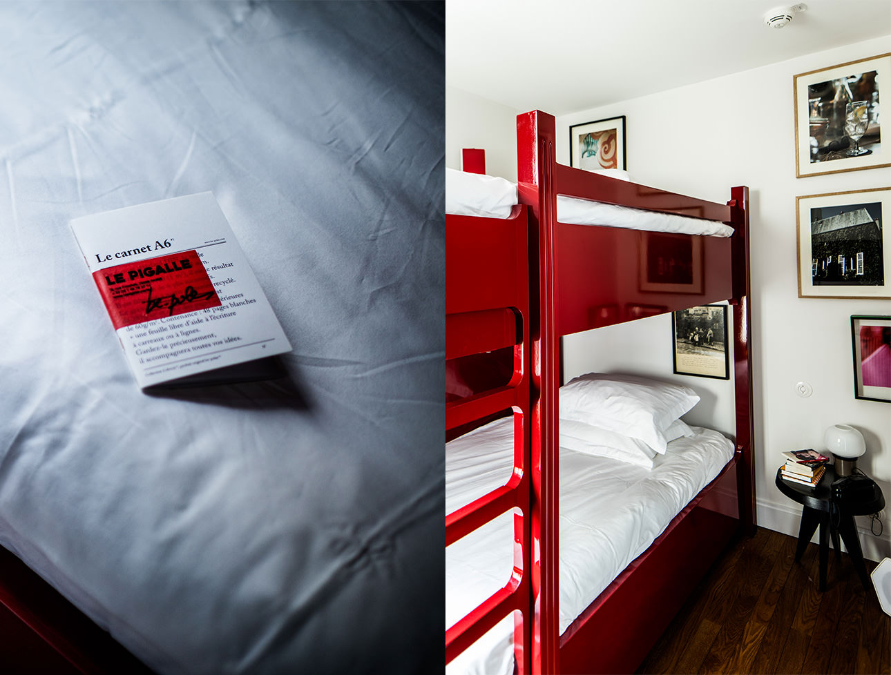 stationery-amenities-design-bunk-beds-le-pigalle-hotel-paris