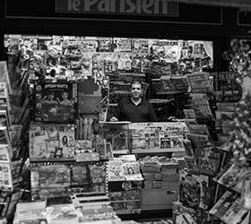 Le kiosque de Hussam Mouli